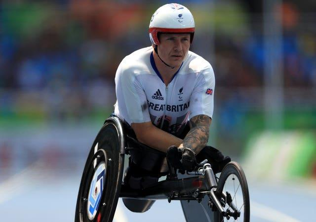 Great Britain's David Weir is set for his sixth Paralympic Games