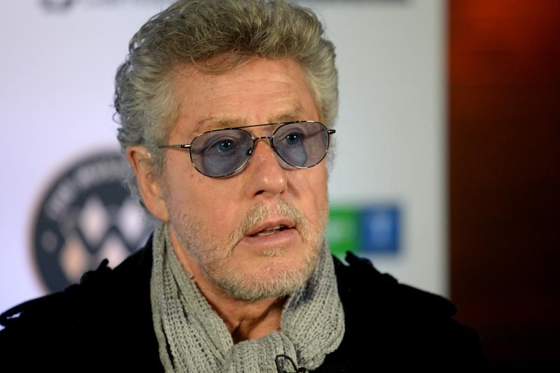 LONDON, ENGLAND - NOVEMBER 19: Roger Daltrey during the Music Walk Of Fame Founding Stone Unveiling at on November 19, 2019 in London, England. (Photo by Dave J Hogan/Getty Images)
