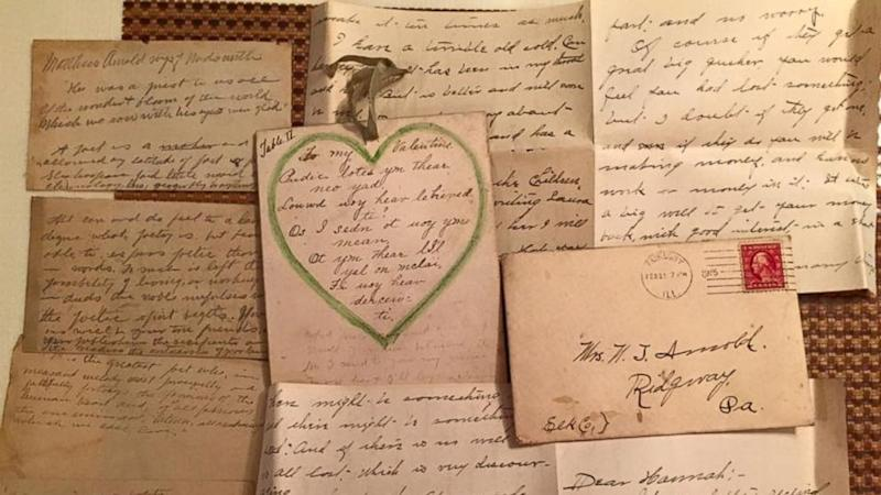 Woman Finds Handwritten Letters From 1915 in Ceiling, Returns Them to Relatives (ABC News)