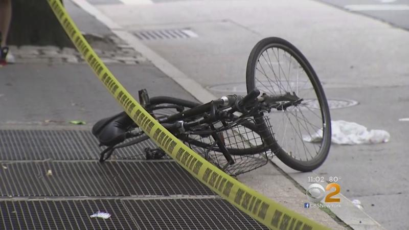 Tourist on bike struck and killed by vehicle in Manhattan