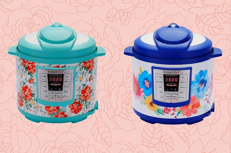 Available in two floral patterns, the Pioneer Woman Instant Pots are as much a decoration as they are an appliance! (Photo: Walmart)
