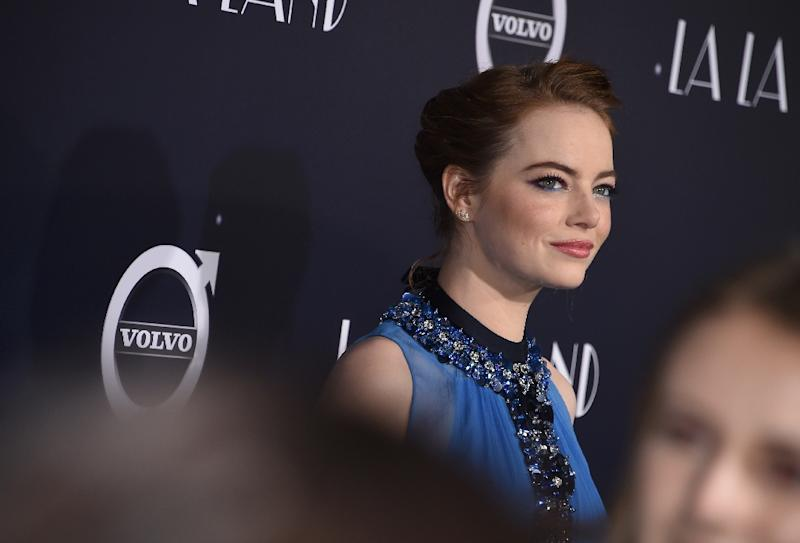 Actress Emma Stone attends the premiere of Lionsgate's
