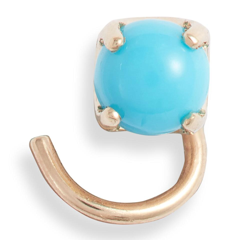 "<p>This simple stud features Webb and Brenner's curled post design for serious comfort. It comes in opal, onyx, and turquoise.</p> <p><strong>To buy</strong>: $130; <a href=""https://click.linksynergy.com/deeplink?id=93xLBvPhAeE&mid=1237&murl=http%3A%2F%2Fshop.nordstrom.com%2Fs%2Falli-webb-x-maya-brenner-stone-comfort-stud-earring%2F5589184%2Ffull&u1=RS%2CTheseEarringsAreComfortableEnoughtoSleepIn%2Cjmastrop%2CJEW%2CIMA%2C696524%2C202003%2CI"" target=""_blank"">nordstrom.com</a>.</p>"