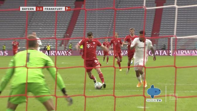 VIDEO Highlights Mola TV: Bayern Munchen 5 vs 0 Eintracht Frankfurt | Bundesliga | (24/10/2020)