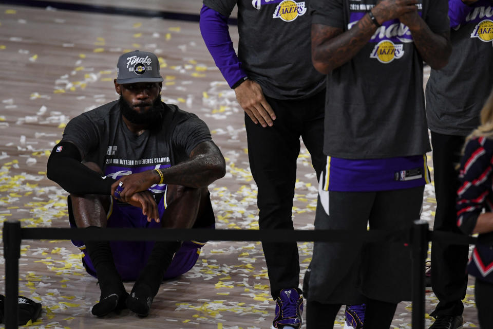 LeBron James knows his greatness is not measured in Finals appearances. (AAron Ontiveroz/MediaNews Group/The Denver Post via Getty Images)