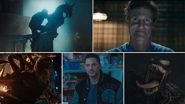 Venom Let There Be Carnage Trailer: Tom Hardy's Venom to Take On Woody  Harrelson's Vicious Carnage in This Crazy Spidey Spinoff! (Watch Video)