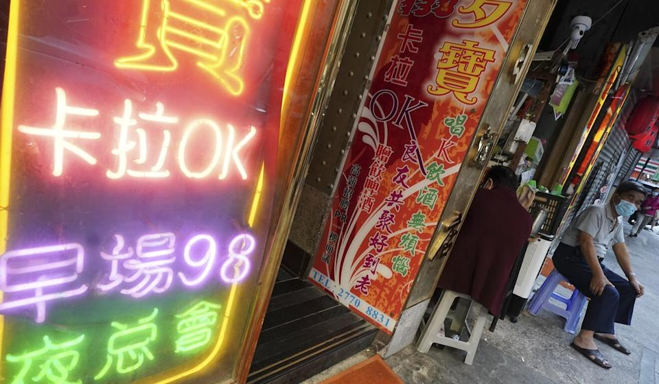 Nightclubs, such as this one in Mong Kok, have also been ordered to close under the new restrictions. Photo: Felix Wong