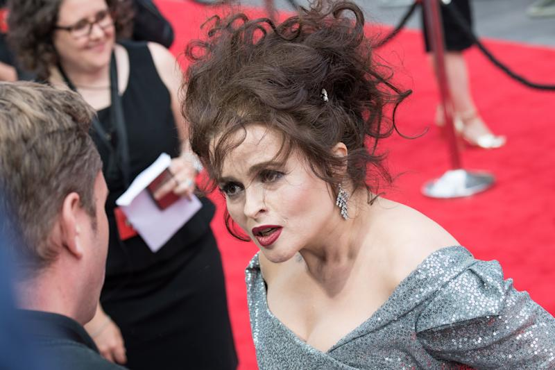 Helena Bonham Carter attends the 'Ocean's 8' UK Premiere held at Cineworld Leicester Square on June 13, 2018. (Photo by Jeff Spicer/FilmMagic)