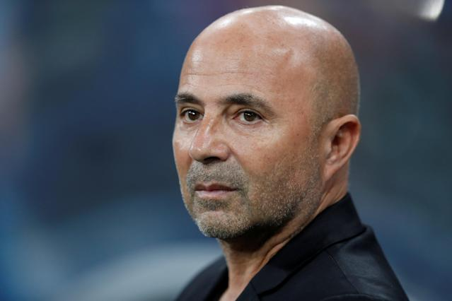Soccer Football - World Cup - Group D - Argentina vs Croatia - Nizhny Novgorod Stadium, Nizhny Novgorod, Russia - June 21, 2018 Argentina coach Jorge Sampaoli REUTERS/Matthew Childs