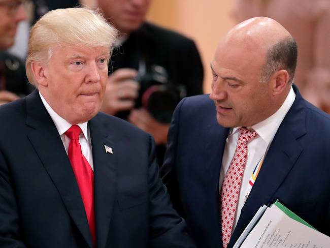 Cohn Exiting White House Would 'Crash the Markets'
