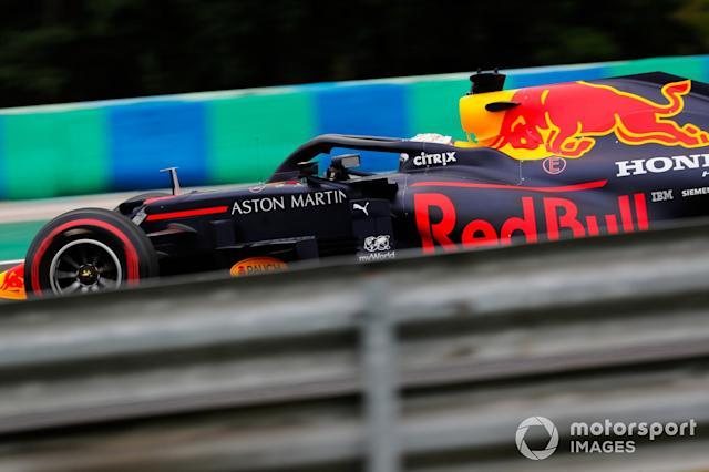 "Max Verstappen, Red Bull Racing RB16 <span class=""copyright"">Steven Tee / Motorsport Images</span>"