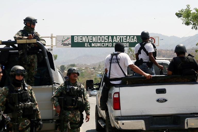 Knights Templar leader captured over Mexican homicides