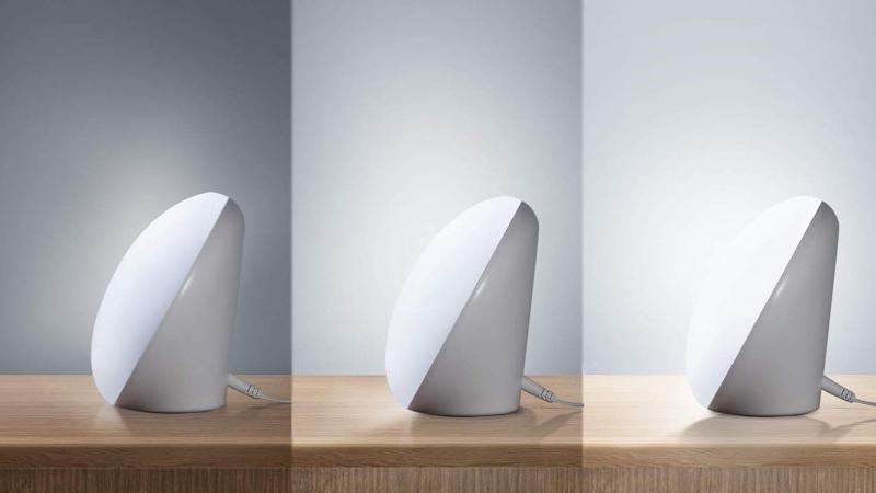 The Miroco light therapy lamp has three adjustbale sttings. (Photo: Amazon)