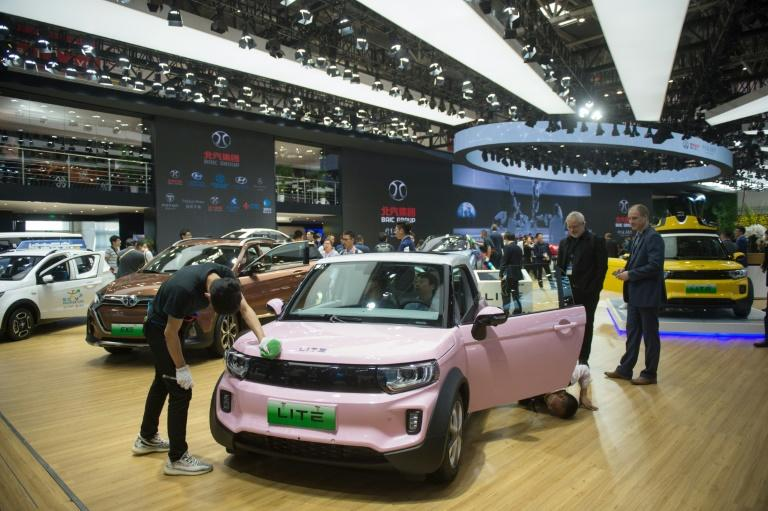 China's BAIC ranked first in global EV sales last year, turning over 96,000 units, according to data from automotive research firm Jato Dynamics