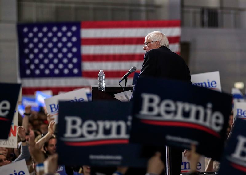 U.S. Independent Senator from Vermont Bernie Sanders speaks at a rally at Navy Pier in Chicago, Illinois, March 3, 2019. Sanders is running for president for the second time after losing the Democratic nomination to Hillary Clinton in 2016. (Photo: Tannen Maury/EPA-EFE/REX/Shutterstock)