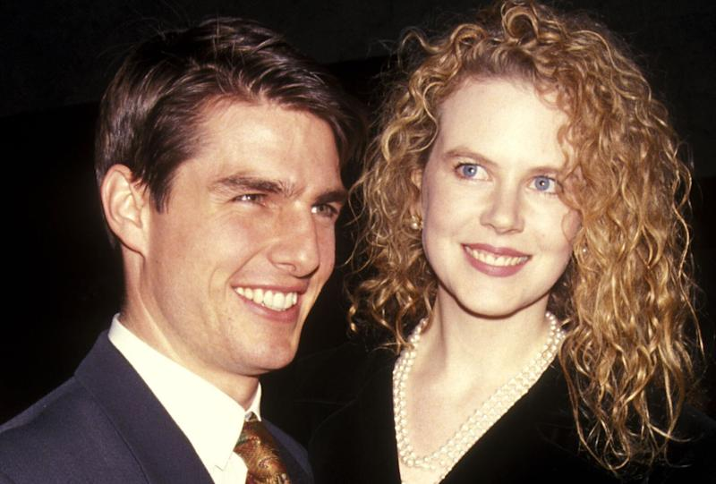 Tom Cruise y Nicole Kidman, en febrero de 1992. (Photo: Ron Galella Collection via Getty)