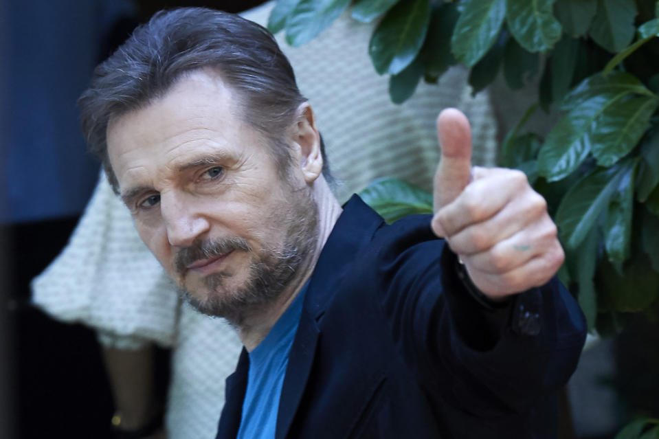 Actor Liam Neeson retiring from action films after aussie fight scene