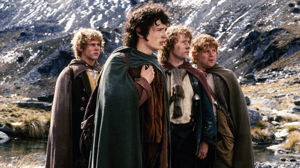'Lord of the Rings: The Fellowship of the Ring'. (Credit: New Line Cinema)