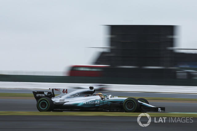 """2017: Mercedes AMG F1 W08 <span class=""""copyright"""">Charles Coates / Motorsport Images</span>"""