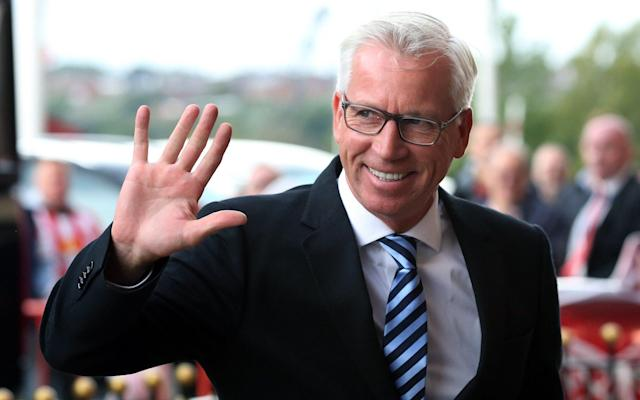 "Alan Pardew has left West Brom by mutual consent, and with half a million quid in his bin. There will be few tears shed by Baggies fans. But it might yet be that the departure of the man they call Chunky points to the end of an era. Pardew was a prominent member of that British group of proper football men that always seem to be there or thereabouts when a Premier League job (outside the top six) comes up. Other core members include Sam Allardyce, David Moyes, Mark Hughes, Steve Bruce, Tony Pulis, Roy Hodgson and Chris Hughton. Gary Megson and Paul Lambert are on the fringes; Harry Redknapp has allowed his membership to lapse. Those 11 British managers have had 51 Premier League jobs between them. FIFTY ONE! Snow joke: Sam Allardyce has had SEVEN Premier League jobs Credit: CameraSport via Getty Images Allardyce has had seven, Redknapp six, Hughes six, Hogdson five, Hughton five, Pardew five, Bruce four, Moyes four, Pulis three, Lambert three, Megson three. Some of them have done fine work at some of them: Allardyce at Bolton back in the day, Pulis at Stoke, Hughton at Brighton if they stay up. But there have been more hits than misses for this group. Is there any other job than British Football Manager where failure is such a small barrier to continued (very gainful) employment? Sheet results: Newcastle fans in September 2014 Credit: Action Images It pains me to speak ill of a fellow Alan, but Pardew, for instance, left Charlton with chants of ""we want Pardew out"" ringing in his ears, left Southampton after staff unrest, had an excellent 2011-2012 season at Newcastle but was never welcomed by the North East fans (to say the least, if you check out that link ). An encouraging start at Crystal Palace ended in disappointment. And yet there he was, appointed at West Brom. Good old Alan. Every time a Premier League club gets rid of the manager, a case is made for one or other of this gilded group of British fifty-somethings, and a useful idiot like a Paul Merson will stress that it is vital for *Insert Struggling Club* to appoint a British manager who ""knows the league"" rather than a foreign coach. But why? And is this gravy train finally running out of steam? See you pal: David Moyes address a football Credit: Getty Images With the exception of the top six (and arguably Everton and Leicester) the only goal for Premier League owners is staying up. The fit and proper men from the Middle East, the former Soviet bloc and Thailand care not for the fact that the gaffer is pals with the bloke at the Daily Mirror and is decent value on the golf course. They see only the one result that matters: are we going to stay in the league? They might look at the example of Watford, say, bringing in a talented, young (or young in football manager terms, anyway) coach who can do enough to finish above three other modest outfits. Get rid of him once the lustre wears off. Rinse and repeat. 36 of the 92 English league clubs have had a new manager in the last six months: the days of building a team, let alone a club, seem to be in decline. Hello Mr Roy: Crystal Palace's English manager Roy Hodgson Credit: AFP The clubs in the bottom eight (Brighton in 13th and downwards) are managed by Hughton, Moyes, Carlos Carvalhal, David Wagner, Hodgson, Hughes and Lambert, plus the Pardew-free WBA. So that's six of the eight strugglers who are the same old faces. 28 Premier League jobs between them they have had, and yet they are presiding over poor teams playing poor football, week after week, year after year. Are these British managers actually any good at it? You would imagine that relegation would spell certain P45 for Lambert, Hughes, Hodgson and Moyes. Probably not for Wagner, possibly not for Carvahal and Hughton. Even if they stay up, it wouldn't be a surprise to see Moyes leave West Ham. Why are the same people getting the same jobs over and over again? And will owners finally decide that it might be at least worth trying a manage who isn't British/Irish and in his fifties? This season may yet prove to be the last march of the dinosaurs. Perhaps it is time we all moved on. Can everyone please stop tweeting us about Alan Pardew Alan Pardew is NOT a #WBA (World Bollard Association) member We have not agreed to part company with him by mutual consent We don't even know him Thank you #WorldBollardAssociation#WestBollardAlbion@wba— World Bollard Association (@WorldBollard) April 2, 2018"