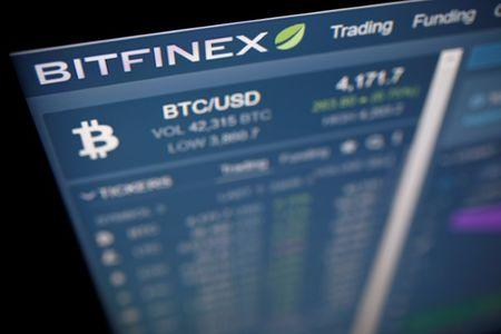 FILE PHOTO: Photo illustration of Bitfinex cryptocurrency exchange website
