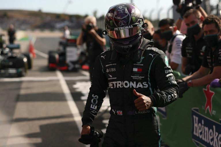 Lewis Hamilton will be in pole position at the Portuguese Grand Prix as he attempts to win a record 92nd F1 race