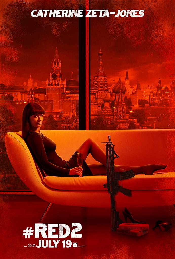 """Catherine Zeta Jones in Summit Entertainment's """"RED 2"""" - 2013<br><br> <a href=""""http://l.yimg.com/os/251/2013/04/24/Red2-OnlineCharacter-posters-CZJ-fin7-jpg_165207.jpg"""" rel=""""nofollow noopener"""" target=""""_blank"""" data-ylk=""""slk:View full size >>"""" class=""""link rapid-noclick-resp"""">View full size >></a>"""