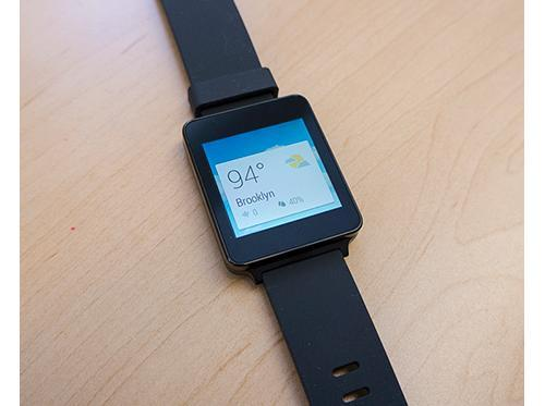 Google Wear smartwatch