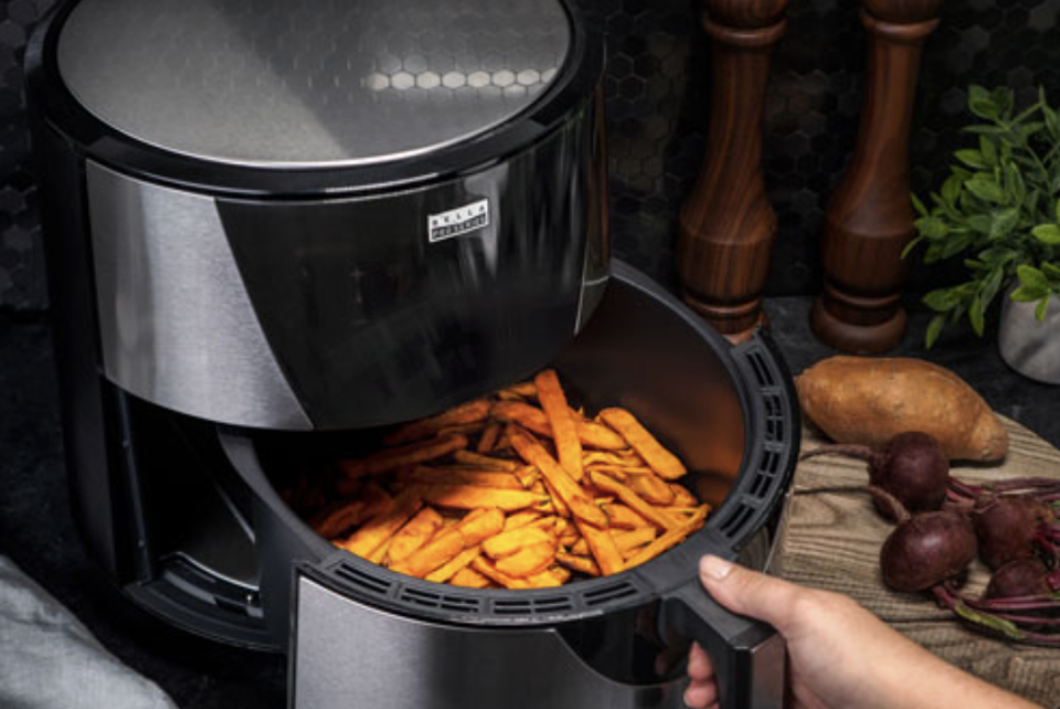 Bella Pro Touchscreen Air Fryer - 7.6L - Stainless Steel - Only at Best Buy