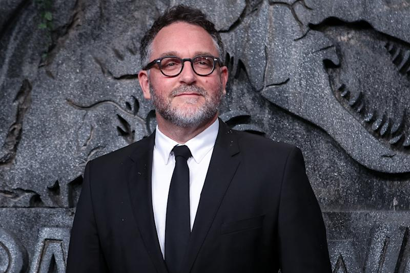 MADRID, SPAIN - MAY 21: Director Colin Trevorrow attends the 'Jurassic World: Fallen Kindom' (Jurassic World: El Reino Caido) premiere at WiZink Center on May 21, 2018 in Madrid, Spain. (Photo by Pablo Cuadra/FilmMagic)
