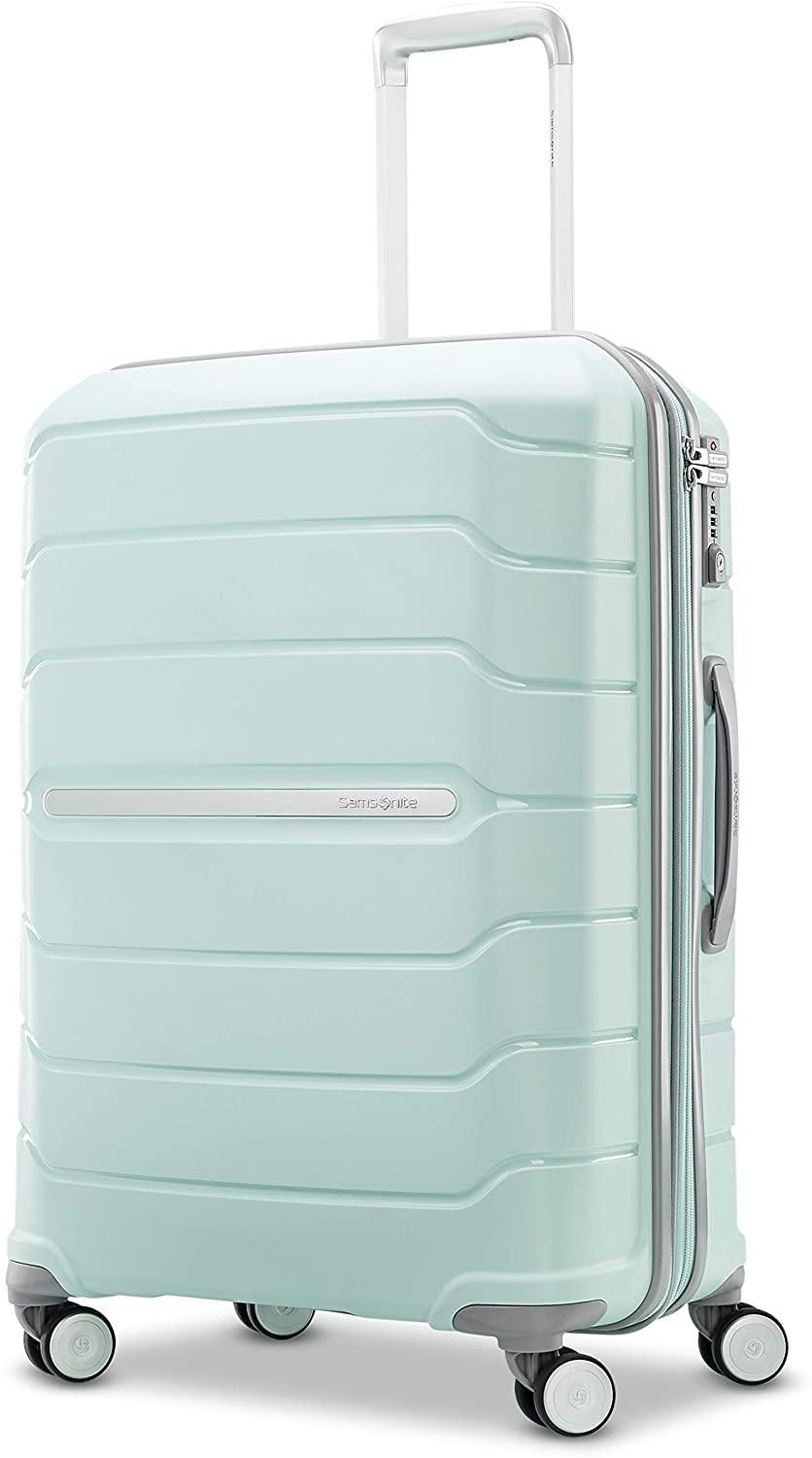 "<h2>41% Off Samsonite Freeform Hardside Expandable Double-Spinner Wheels Carry-On</h2><br>The perfect steal on a gift for your favorite wanderluster. Samsonite's cult-favorite suitcases are durable, lightweight, stylish, and all come with a 10-year warranty that protects against defects/ <br><br><strong>Samsonite</strong> Freeform Hardside Expandable with Double Spinner Wheels, $, available at <a href=""https://amzn.to/37BDSoH"" rel=""nofollow noopener"" target=""_blank"" data-ylk=""slk:Amazon"" class=""link rapid-noclick-resp"">Amazon</a>"