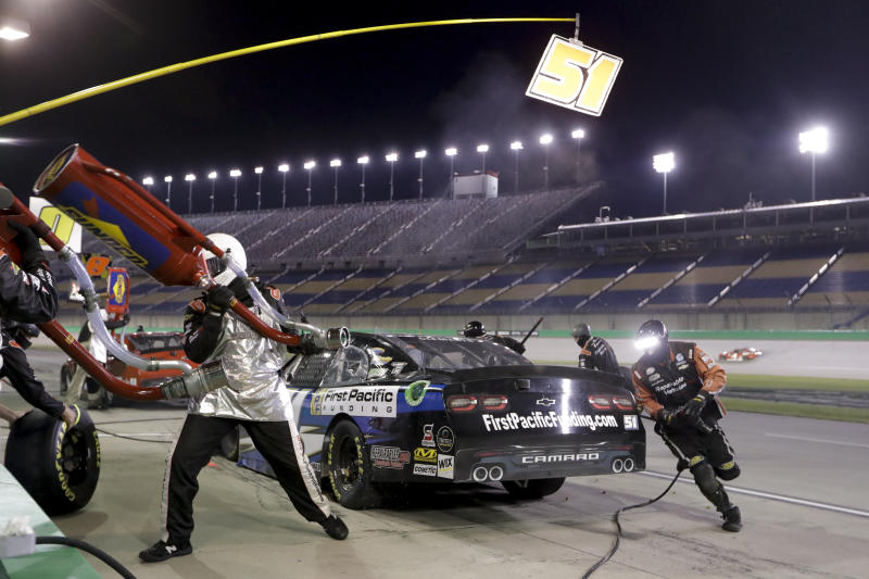 Austin Cindric completes Xfinity sweep at Kentucky Speedway