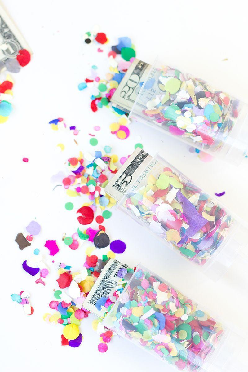 "<p>Rainbow confetti <em>and</em> some pocket cash? Your grad is going to love these money poppers! </p><p><strong>Get the tutorial at <a href=""https://studiodiy.com/diy-surprise-money-confetti-poppers/"" rel=""nofollow noopener"" target=""_blank"" data-ylk=""slk:Studio DIY"" class=""link rapid-noclick-resp"">Studio DIY</a>.</strong></p><p><a class=""link rapid-noclick-resp"" href=""https://go.redirectingat.com?id=74968X1596630&url=https%3A%2F%2Fwww.walmart.com%2Fip%2FKoyal-Wholesale-Tissue-Paper-Confetti-1-Inch-Round-Circles-Rainbow-In-Bulk-5-3oz-Pack-Rainbow-Unicorn-Hawaiian-Luau%2F570231356&sref=https%3A%2F%2Fwww.thepioneerwoman.com%2Fhome-lifestyle%2Fentertaining%2Fg36014713%2Fgraduation-party-ideas%2F"" rel=""nofollow noopener"" target=""_blank"" data-ylk=""slk:SHOP RAINBOW CONFETTI"">SHOP RAINBOW CONFETTI</a></p>"