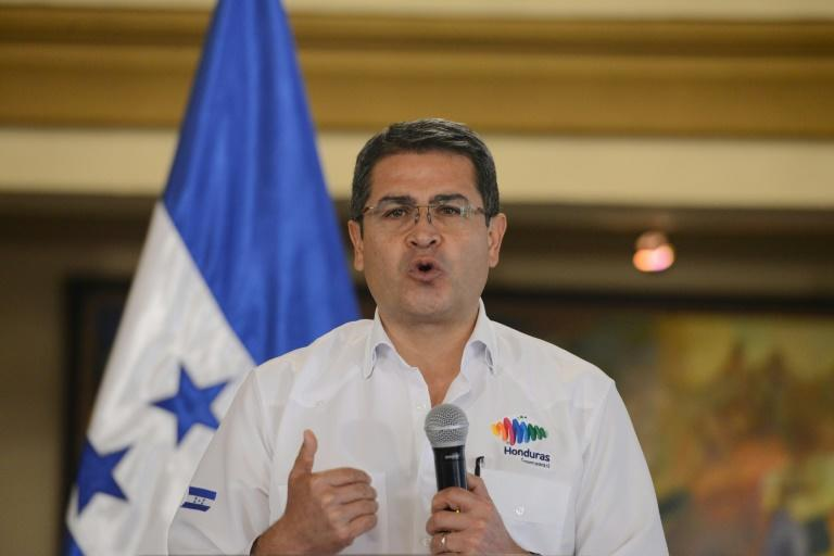 Leonel Rivera Maradiaga implicated  Honduras' current president Juan Orlando Hernandez (pictured)  in bribes and dealings with his cartel