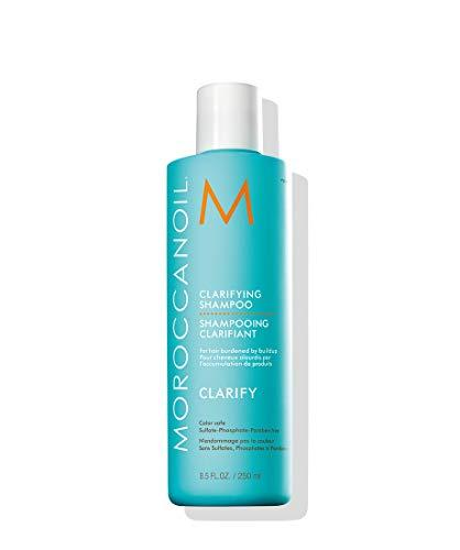 """<p><strong>MOROCCANOIL</strong></p><p>amazon.com</p><p><strong>$26.00</strong></p><p><a href=""""http://www.amazon.com/dp/B0089NVH5W/?tag=syn-yahoo-20&ascsubtag=%5Bartid%7C2140.g.28018096%5Bsrc%7Cyahoo-us"""" target=""""_blank"""">SHOP NOW</a></p><p>Clarifying formulas are known to be dehydrating, but luckily this bottle is an exception. It's filled with argan and avocado oil, keratin, lavender, chamomile, and jojoba extracts, so strands stay super silky and nourished.</p>"""