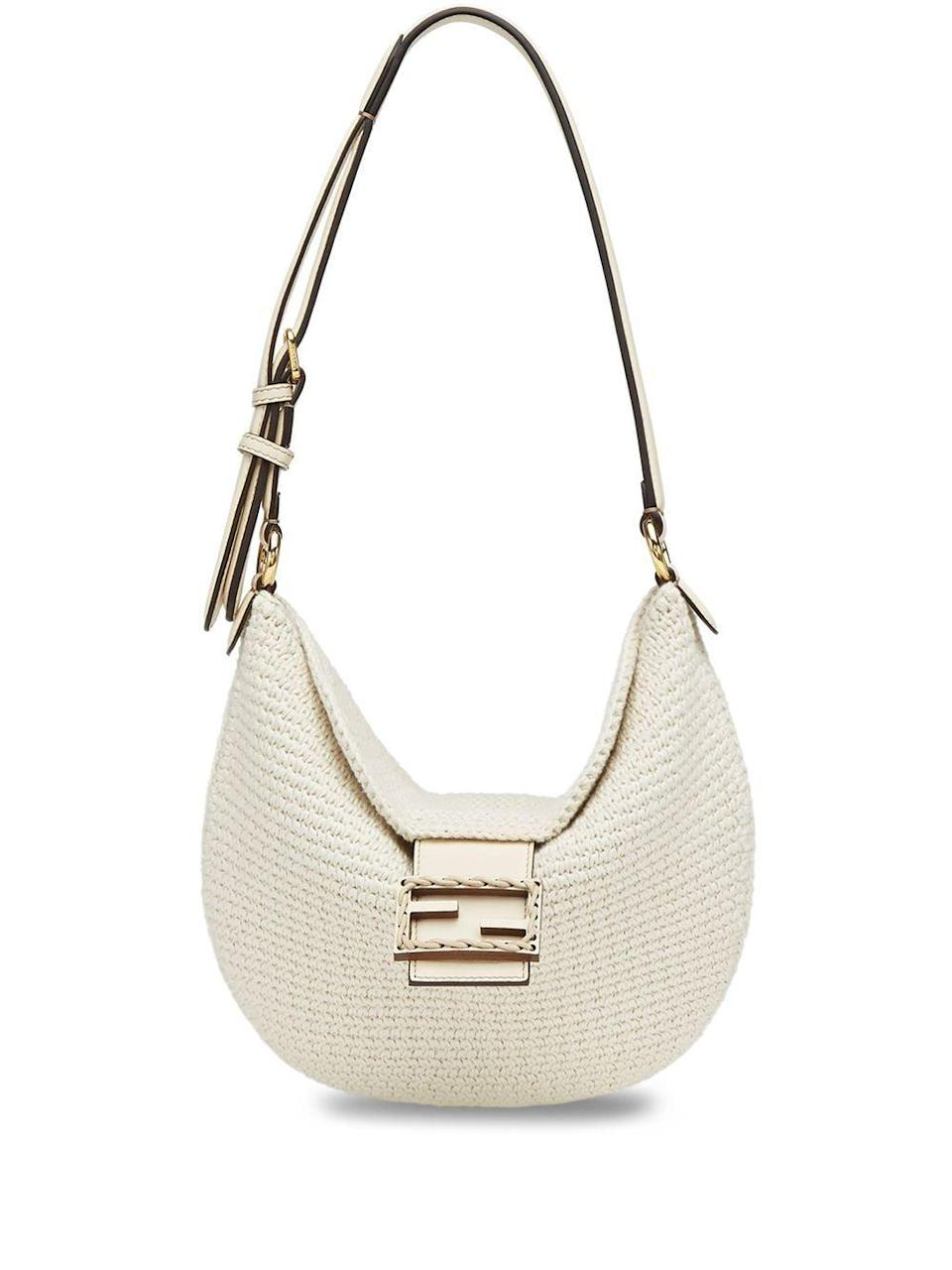 """<p><strong>Fendi</strong></p><p>farfetch.com</p><p><strong>$2290.00</strong></p><p><a href=""""https://go.redirectingat.com?id=74968X1596630&url=https%3A%2F%2Fwww.farfetch.com%2Fshopping%2Fwomen%2Ffendi-small-croissant-shoulder-bag-item-16369621.aspx&sref=https%3A%2F%2Fwww.harpersbazaar.com%2Ffashion%2Ftrends%2Fg24061584%2Fbest-gifts-for-friends-ideas%2F"""" rel=""""nofollow noopener"""" target=""""_blank"""" data-ylk=""""slk:Shop Now"""" class=""""link rapid-noclick-resp"""">Shop Now</a></p><p>She's had her eye on this one long enough.</p>"""