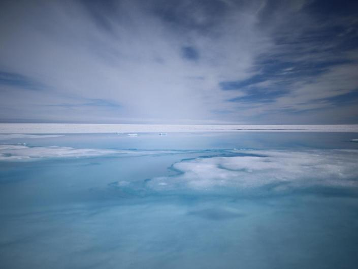 The Greenland Ice Sheet is one of the largest potential contributors to global mean sea level rise if global warming continues to increase: Getty Images