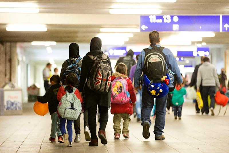 Germany says it expects to receive up to one million asylum-seekers in 2015 (AFP Photo/Axel Schmidt)