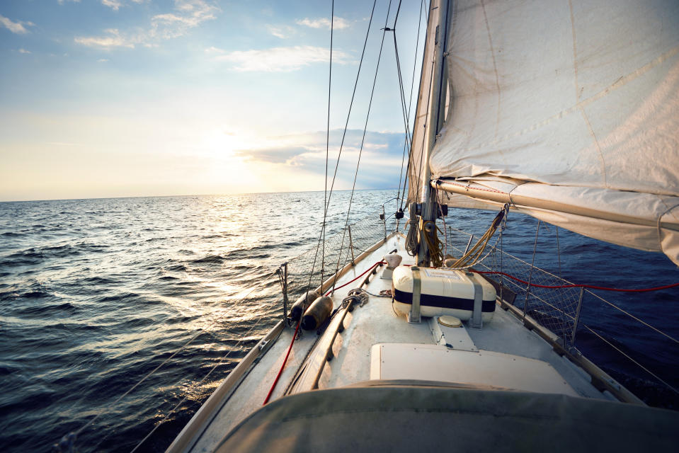"A Canadian ""citizen scientist"" who has been sailing around the world since last October — prior to the coronavirus crisis — is sharing his reflections on self-isolation. (Photo: Getty Images stock)"