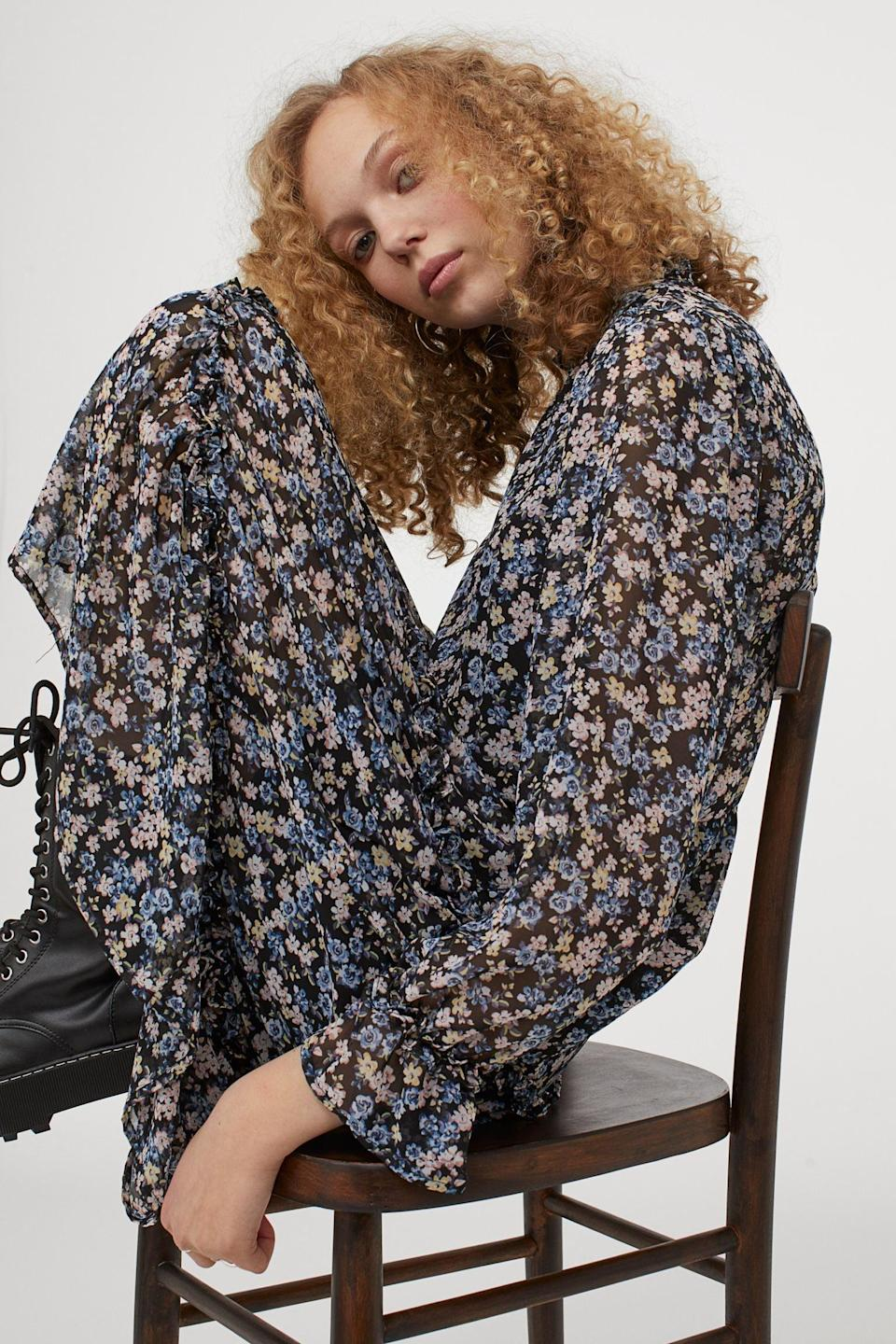<p>This <span>Calf-length Chiffon Dress</span> ($40) is the flowy solution you need for maximum comfort and style.</p>