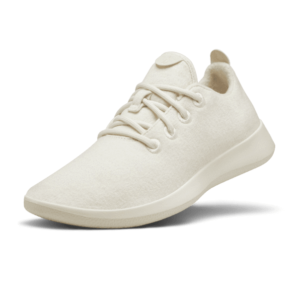 <p>These cream <span>Allbirds Wool Runners</span> ($98) are comfy and eco-friendly.</p>