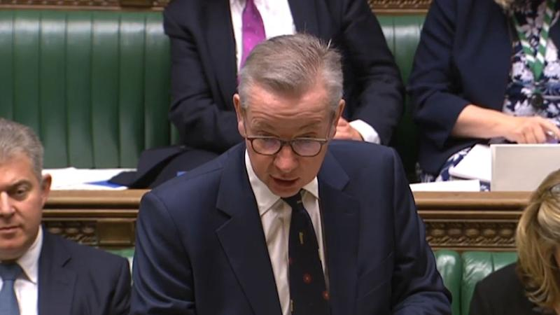 Michael Gove echoes Dad's Army in putdown to 'nationalist' SNP