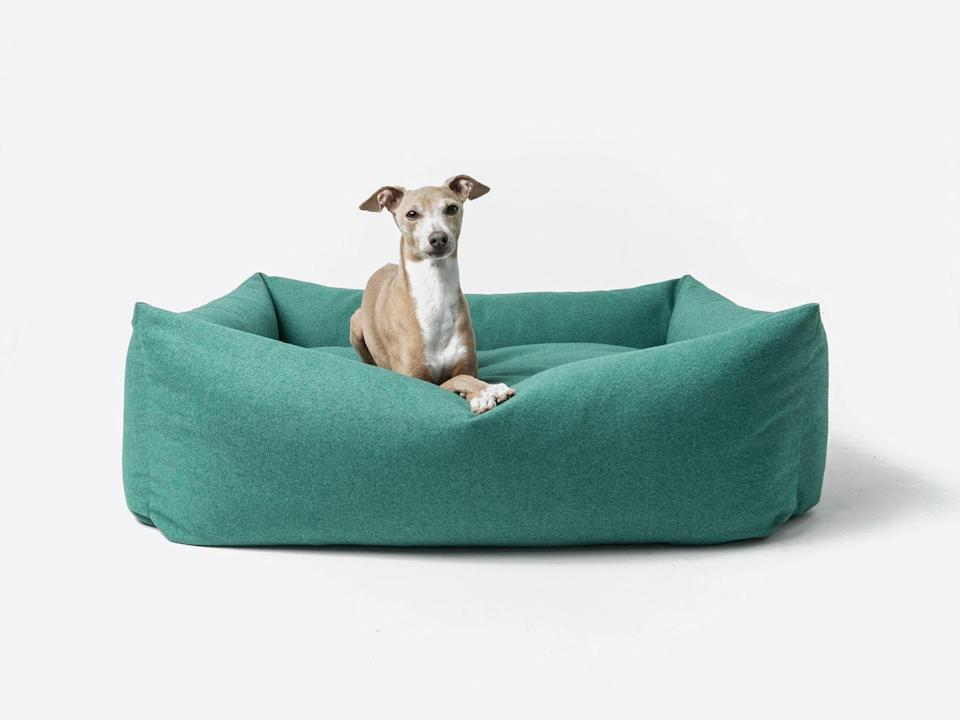 """<p>Dog-bed specialist Charley Chau's 'Bliss Bolster Bed' is made from upholstery-grade material and is engineered to be as robust and comfortable as any sofa. The elegant design has removable covers, the idea being owners can switch up the look just as you might do with bedding. From, £225, <a href=""""https://www.charleychau.com/"""" rel=""""nofollow noopener"""" target=""""_blank"""" data-ylk=""""slk:charleychau.com"""" class=""""link rapid-noclick-resp"""">charleychau.com</a></p>"""