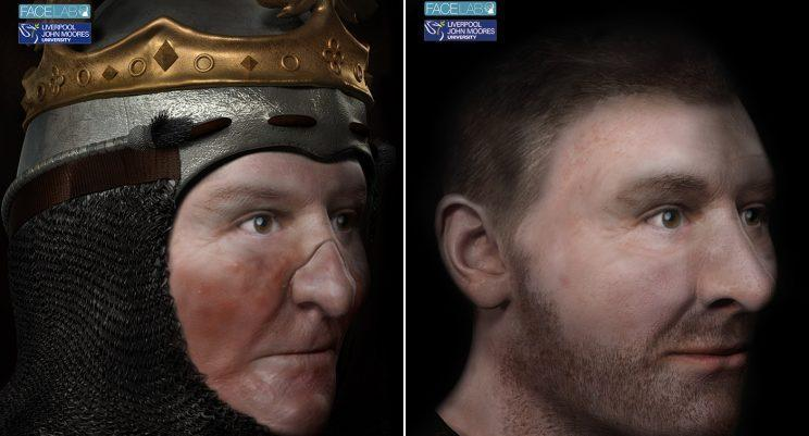 Scientists have recreated the face of Robert the Bruce