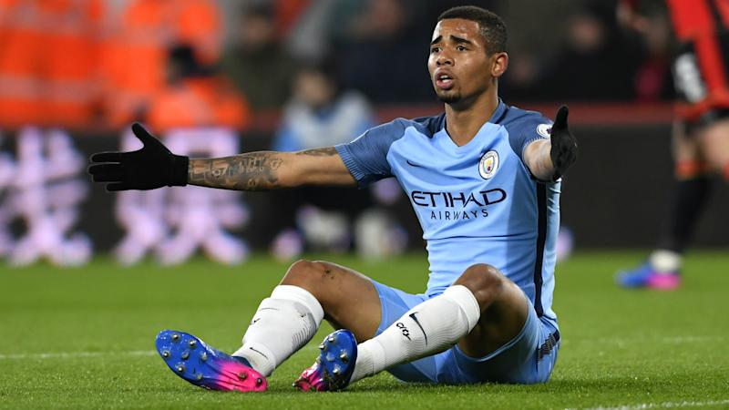 Guardiola doubts Gabriel Jesus will be fit enough for FA Cup clash with Arsenal