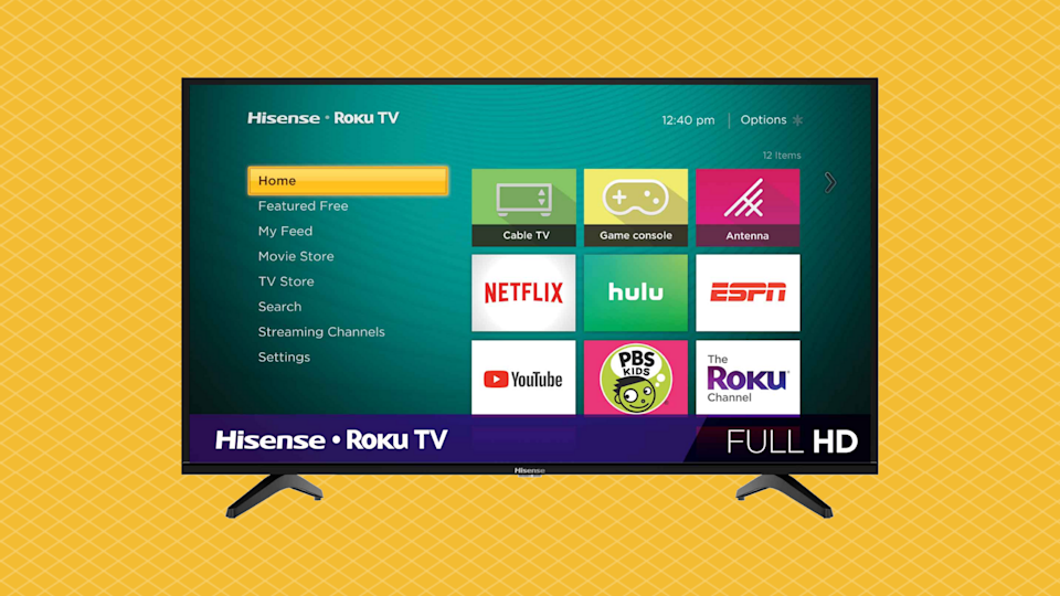 If there's one thing to pick up during Walmart's Deals For Day shopping event, make it this Hisense smart TV. (Photo: Walmart)