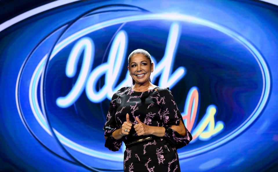 MADRID, SPAIN - OCTOBER 28: Spanish Singer Isabel Pantoja attends 'Idol Kids' Madrid Photocall on October 28, 2019 in Madrid, Spain. (Photo by Samuel de Roman/WireImage)