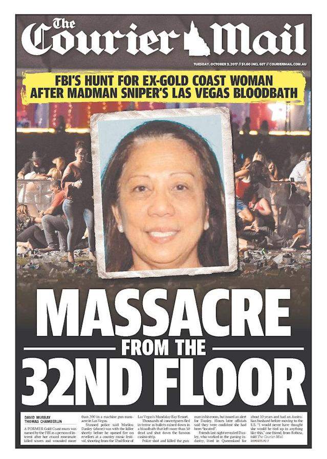 "<p>""The Courier-Mail,"" published in Brisbane, Australia. (newseum.org) </p>"