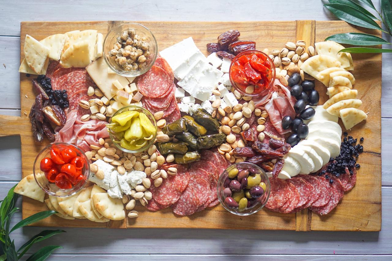 <p>Before you head to your favorite delicatessen to pick up the food items that will be on your platter, the first thing you'll want to do is choose the theme of the charcuterie board. The most popular choices are typically based on international cuisines, including Mediterranean, Spanish, Italian, or French - and don't be afraid to combine multiple regions!</p>