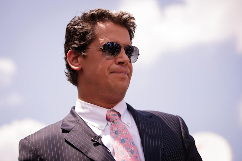 Twitter Suspends Account of Conservative Writer Milo Yiannopoulos